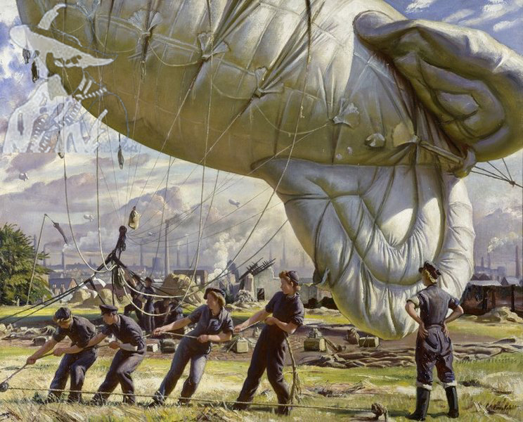 A Balloon Site Coventry 1943