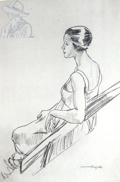 A Dancer Resting 1923