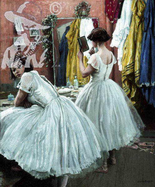 A Dressing Room at Drury Lane 1951