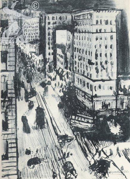 A Street in Washington 1922