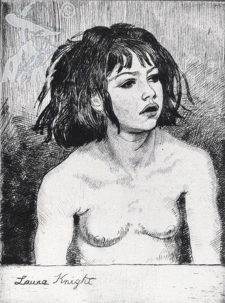 A Young Gypsy 1923