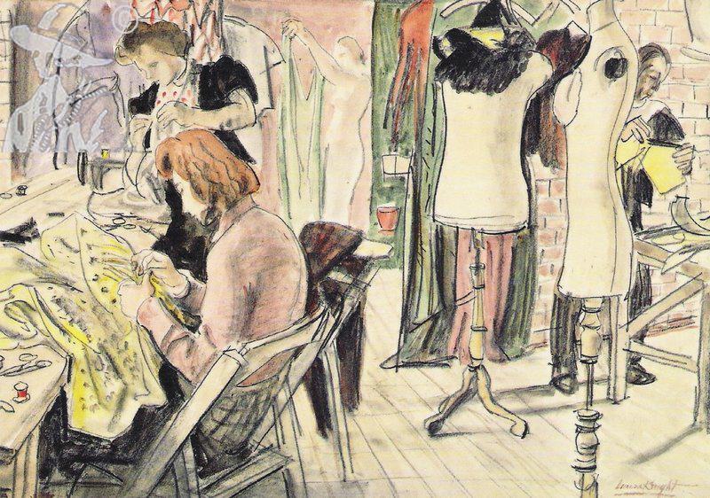 A Wardrobe Room 1953