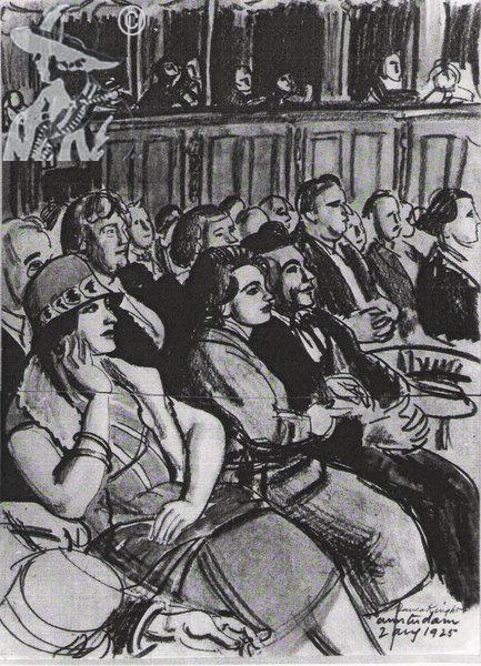Amsterdam Audience 1925