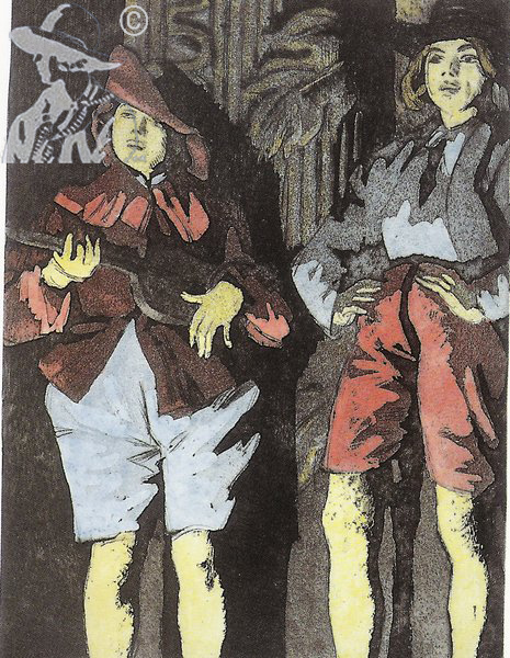 At The Footlights 1923