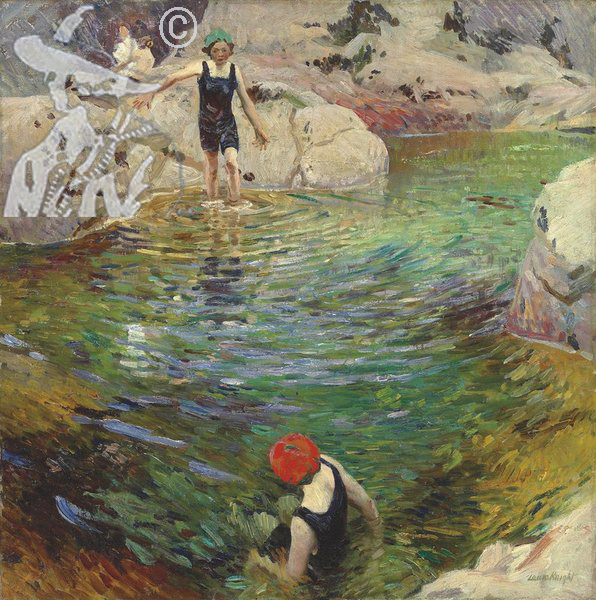 Bathing c1912