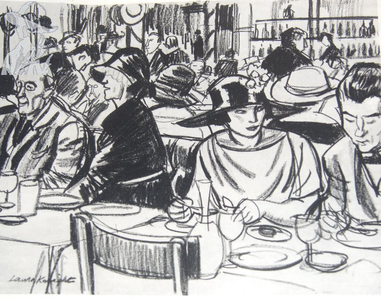 Cafe Royal No. 2 1922