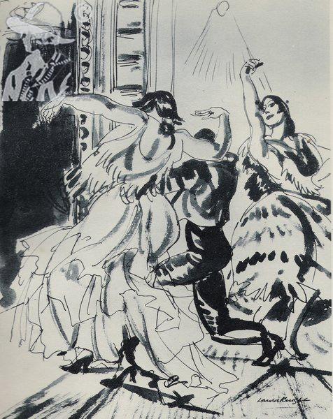 Caudro Flamenco 1922