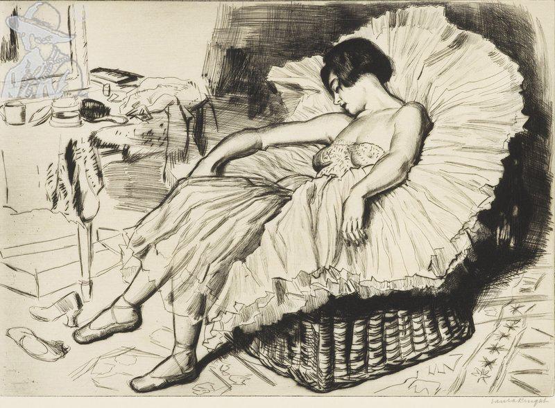 Dancer Sleeping 1925