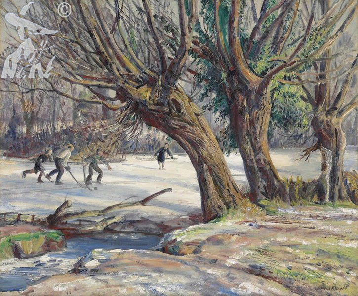 Winter scenes Archives - Dame Laura Knight