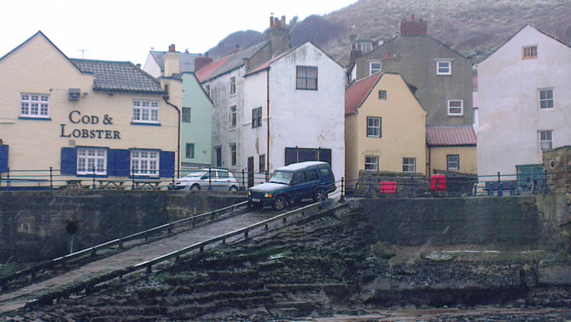 As it is to day - Staithes - Cod and Lobster Public house