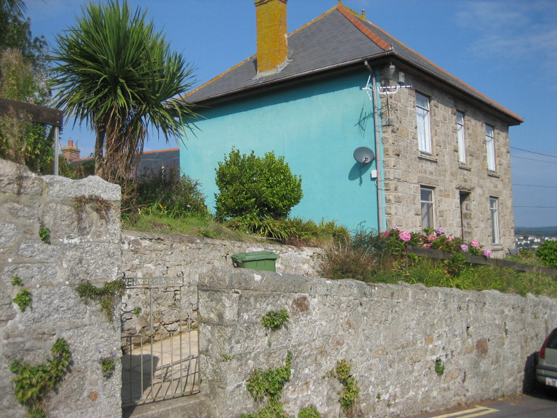 As it is today - Penzer House Newlyn,Cornwall- side view