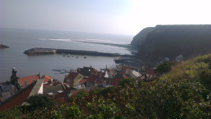 As it is today - Staithes Yorkshire