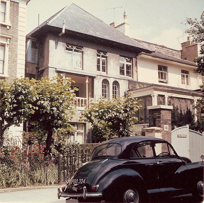 As it was 1960s - 16 Langford Place London