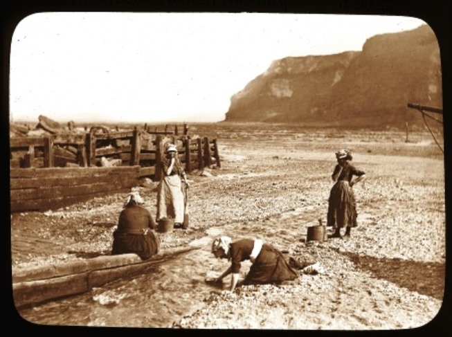 As it was c 1900 - Staithes