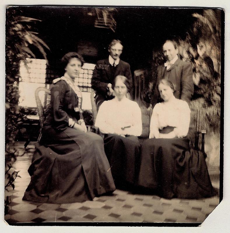 c 1897  Nottingham - Mrs Good at home