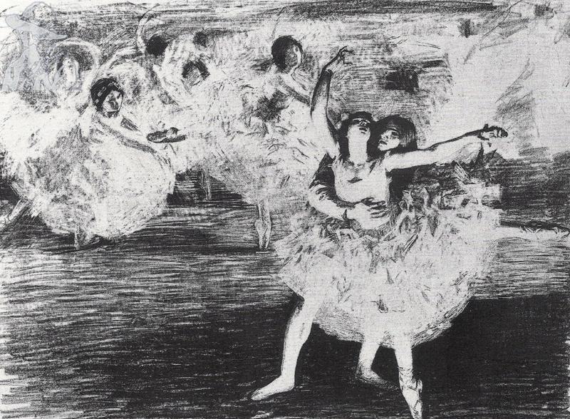 Pas De Deux 1924